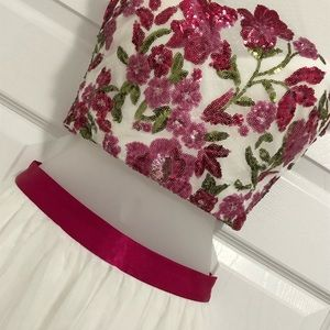 TLC Say Yes to the Prom Dresses - Gorgeous hot pink & white prom dress